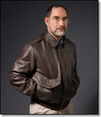 Doug Ritter FlameGaurdLeather Flight Jacket