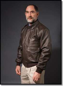 Doug Ritter FlameGaurd™ Leather Flight Jacket - a jacket that ...