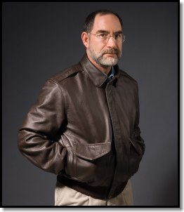 Doug Ritter FlameGaurd™ Leather Flight Jacket - a jacket that