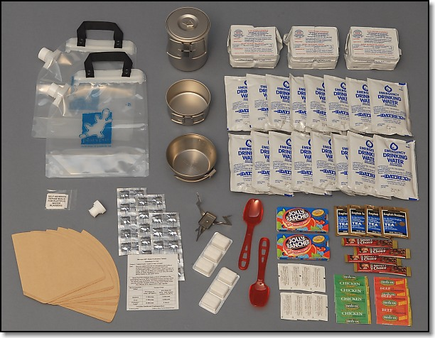 Water and Food Group - Doug Ritter Ultimate 2-Person Aviator Survival Pak